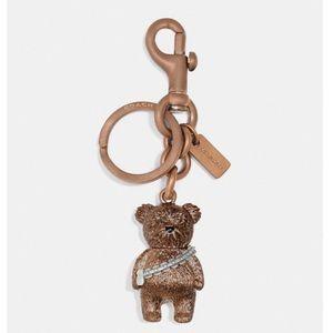 🆕 Coach x Star Wars Ltd Ed Chewbacca Bear Key Fob